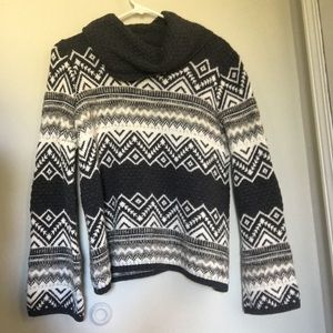 Coldwater Creek Sweater, Blue: Size: M